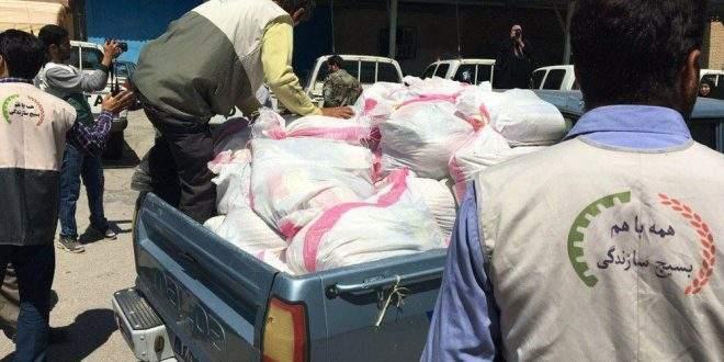 توزیع ۵۰۰۰ بسته معیشتی در مناطق محروم