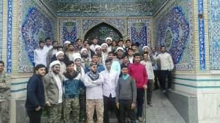اعزام جمعی ازطلاب وخادمان هیئت های مذهبی جوانان شهرستان گناباد به سمت استان سیل زده لرستان