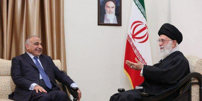 عادل عبدالمهدی نخست وزیر عراق و هیئت همراه، دقایقی پیش با رهبر انقلاب اسلامی دیدار و گفتوگو کردند.