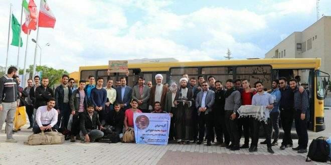 اعزام گروه جهادی شهید جاودانی