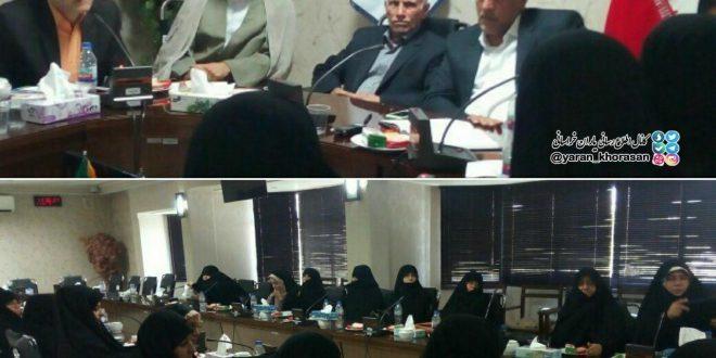 جلسه تشکلهای مردمی عفاف و حجاب با رئیس اتاق اصناف مشهد