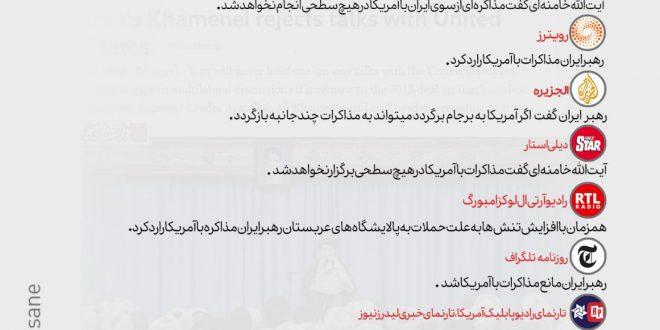 بازتاب بیانات روز گذشته رهبرانقلاب